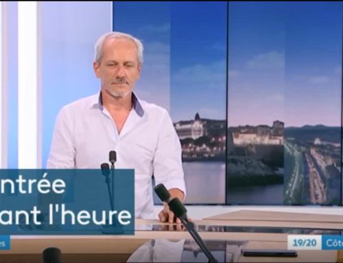 VU sur France 3 Côte d'azur ITW d'Alain GALAN (Snes-FSU)