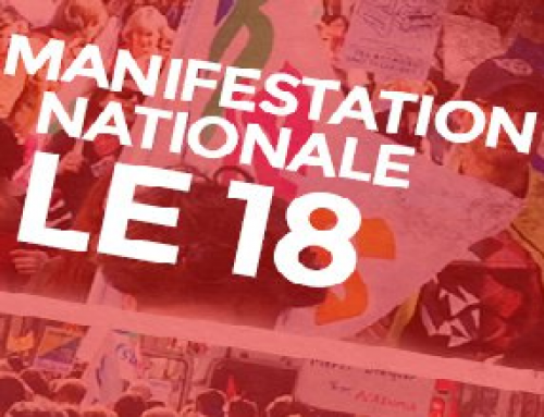 MANIFESTATION EDUCATION NATIONALE 18 MAI à Paris